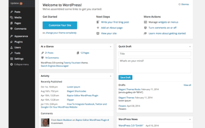 WordPress: Introduction